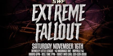 SWF Wrestling Extreme Fallout 2019 tickets
