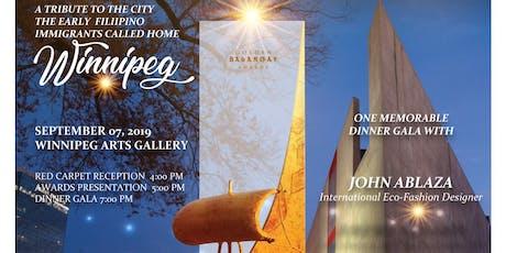 2019 Golden Balangay Awards tickets