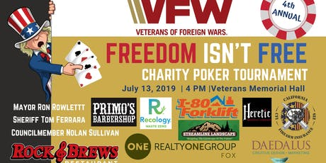 2019 Veterans of Foreign Wars Charity Poker Tournament tickets