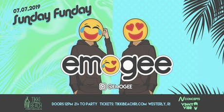 SUNDAY FUNDAY ft. Emogee at Tikki Beach | 7.7.19 tickets