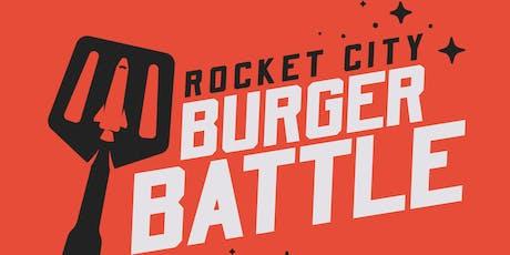 Rocket City Burger Battle tickets
