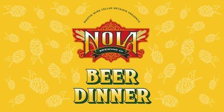 NOLA Beer Dinner tickets