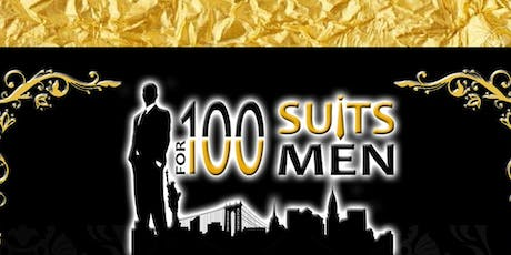 100SUITS 3rd annual Black Tie Gala Fundraiser 2019 tickets