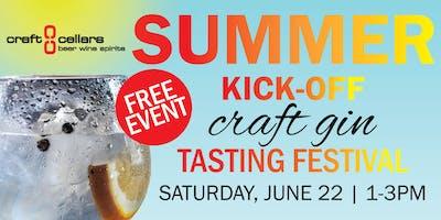 Craft Cellars Summer Kick-off Craft Gin Tasting Festival