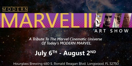 Modern Marvel Art Show pt. II tickets