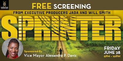 FREE EVENT: Vice Mayor Davis' Red Carpet and Screening of SPRINTER