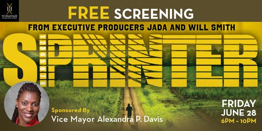 FREE EVENT: Vice Mayor Davis' Red Carpet and Screening of SPRINTER