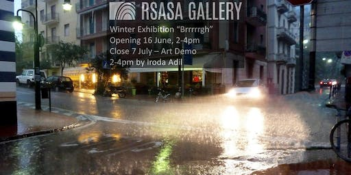 RSASA Winter Members Exhibition- Brrrrrgh