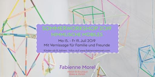 Sommerworkshop: Himmlische Mobiles