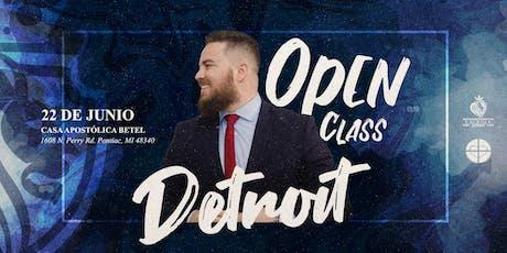 Open Class - Detroit entradas