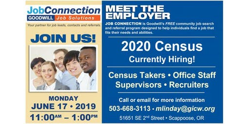 Hiring Event - Scappoose - 6/17/19