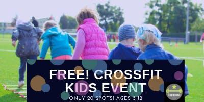Glen Burnie CrossFit Kids Event Ages 5-12