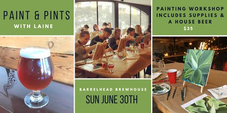 Paint & Pints! tickets