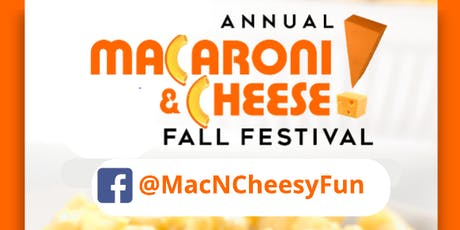 Annual Macaroni & Cheese Fall Festival tickets