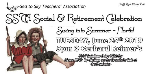 SSTA Social & Retirement Celebration - NORTH!