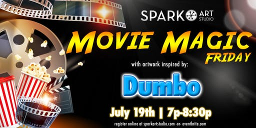 Kids Art Workshop | Movie Magic Friday | Dumbo