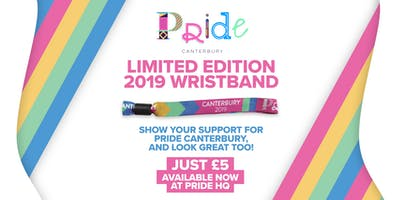 Pride Canterbury Limited Edition Wristbands