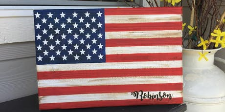 DIY Flag - Paint Workshop tickets