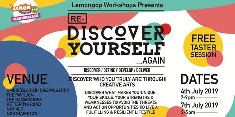 Re-Discover Yourself... Again (Taster Sessions) tickets
