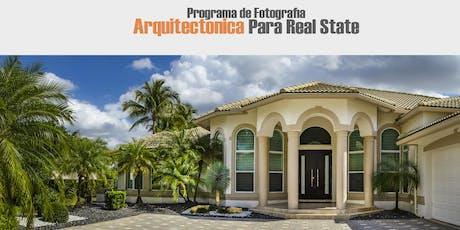 TALLER DE FOTOGRAFIA ARQUITECTONICA PARA REAL STATE II tickets