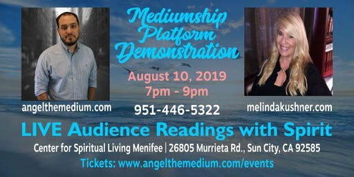 LIVE Mediumship Platform Demonstration | Angel the Medium & Melinda Kushner