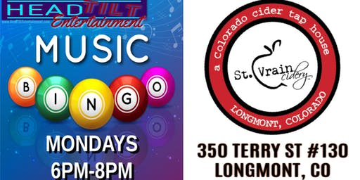 Music Bingo at St. Vrain Cidery - Longmont, CO