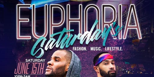 EUPHORIA SATURDAYS WITH DAY IN THE DISTRICT! ONE OF DC'S HOTTEST LGBT EVENTS