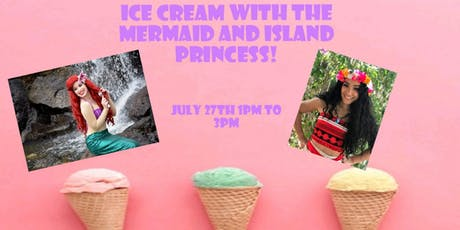 Ice Cream With A Princess tickets