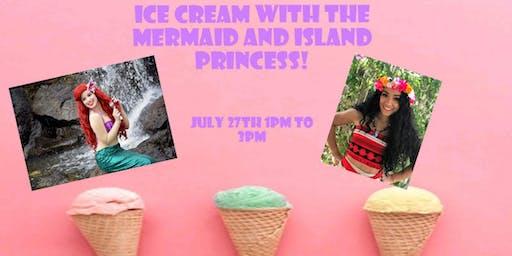Ice Cream With A Princess