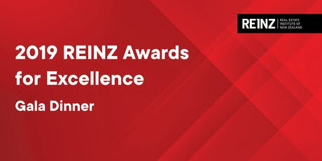 REINZ Awards for Excellence | Tuesday 27 August | 6:00pm - 10:00pm  tickets