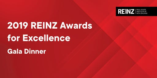 REINZ Awards for Excellence | Tuesday 27 August | 6:00pm - 10:00pm