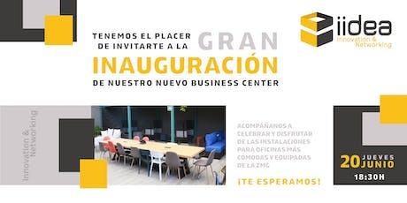 Inauguración Iidea innovation & networking boletos