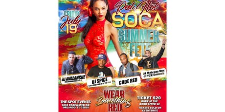 Red Hot Soca Summer Fete tickets