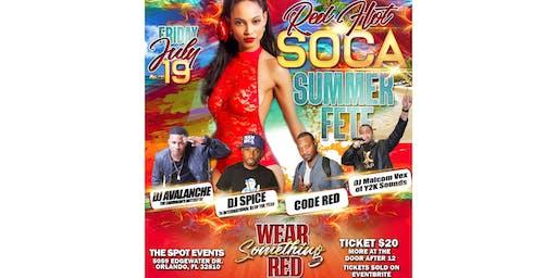 Red Hot Soca Summer Fete