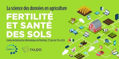 La science des données en agriculture: Fertilité et Santé des sols billets