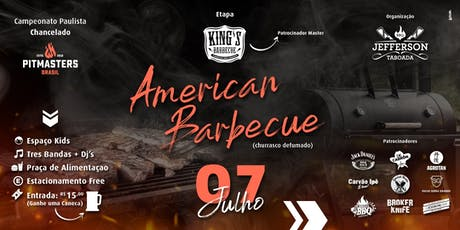 Festival e Campeonato de American Barbecue ingressos