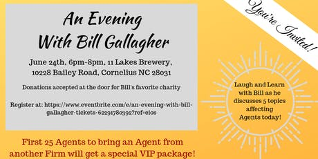 An Evening with Bill Gallagher tickets