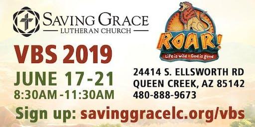 Roar VBS Saving Grace Lutheran Church