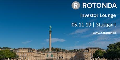 Rotonda Investor Lounge (Stuttgart) Tickets