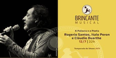Brincante Musical | Rogerio Santos ingressos