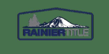 CB Bain   Rainier: Escrow 101 (3 CE-WA)   Kent Station   July 17th 2019 tickets