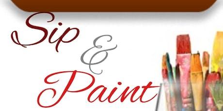 Sip, Paint & Socialize tickets