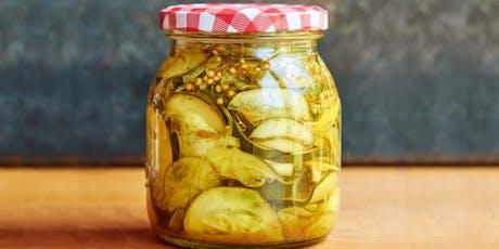 Home-made pickling workshop tickets