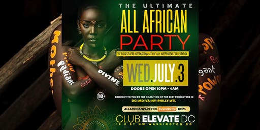 ALL AFRICAN PARTY DC | CELEBRATING HERITAGE & DIVERSITY