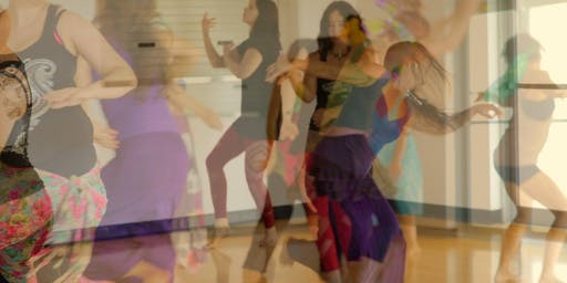 Bonfire (end of challenge) Ecstatic Dance - Aspley