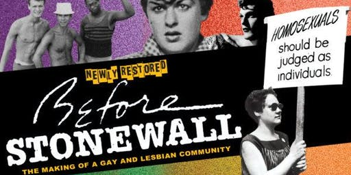 SOLD OUT - Tucson Pride Presents: Before Stonewall