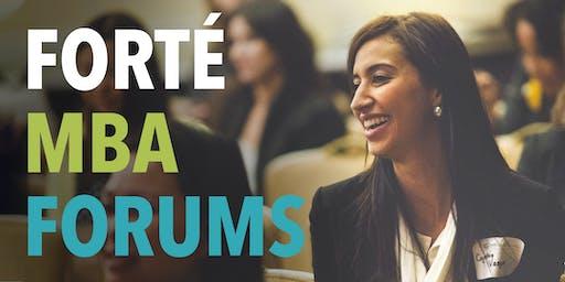 2019 Boston Forté MBA Forum for Women