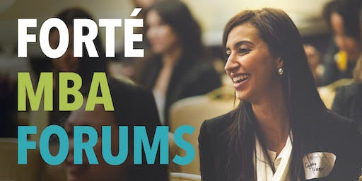2019 San Francisco Forté MBA Forum for Women