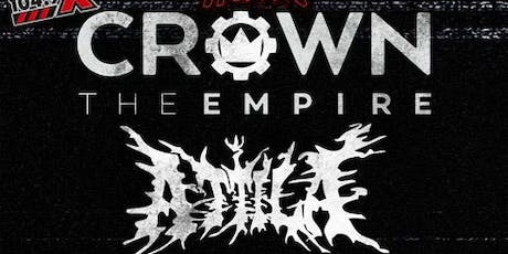Crown The Empire – Rage Fest with Attila tickets