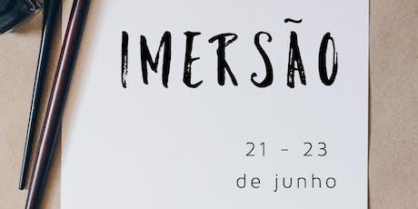 Imersão   Catavento + Reino de Amigos - Junho 2019 ingressos
